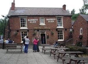 Crooked House in Dudley