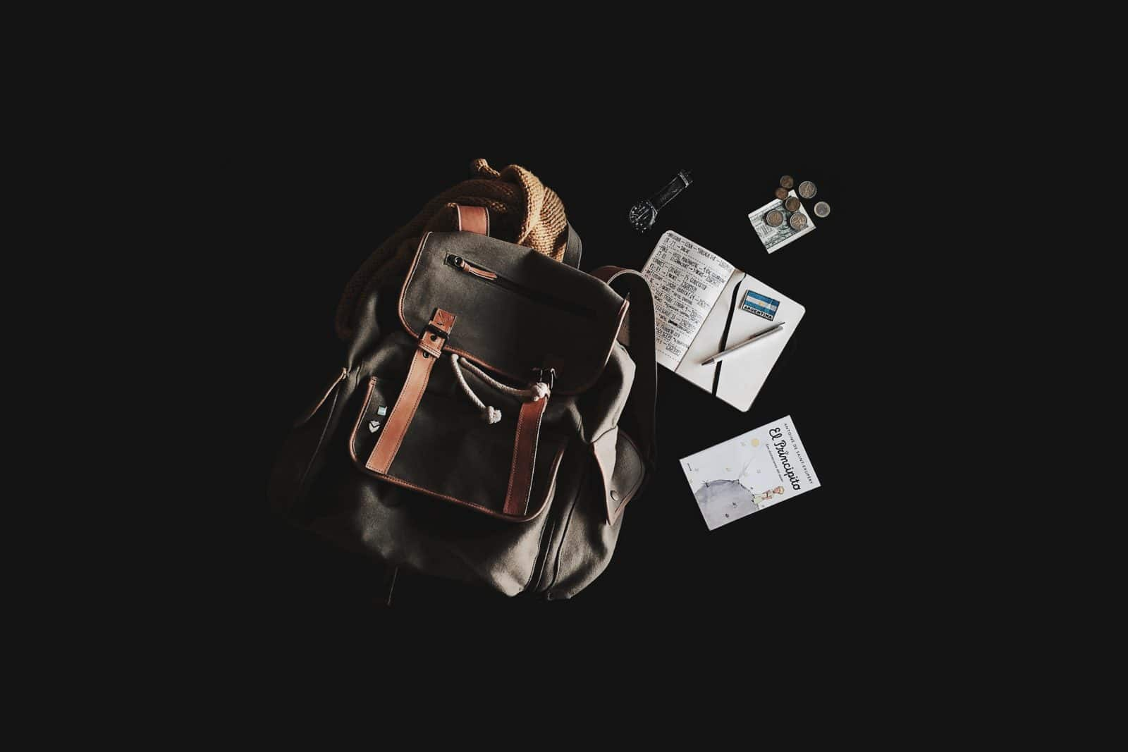 Photo by Cynthia del Río on Unsplash. Backpack, travel, journey, pack