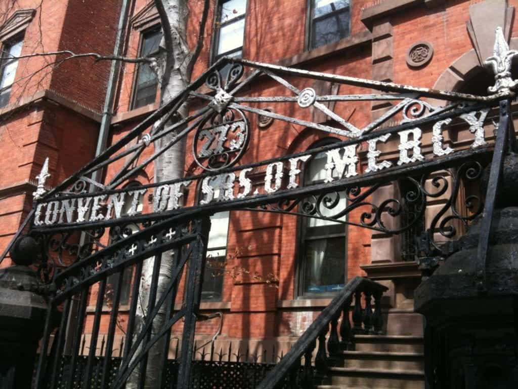 Convent of SBS of Mercy in Brooklyn.